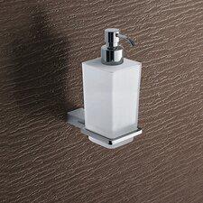 Kansas Wall Mounted Glass Soap Dispenser