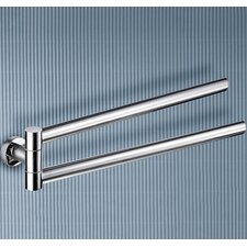 Demetra Wall Mounted Jointed Double Towel Bar