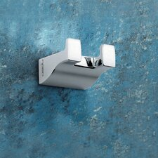 Glamour Wall Mounted Double Robe Hook