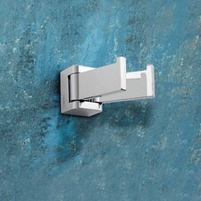 Glamour Wall Mounted Jointed Double Robe Hook
