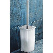 Glamour Toilet Brush Holder in White