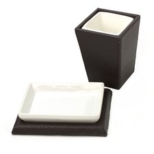 Kyoto 2 Piece Bathroom Accessory Set