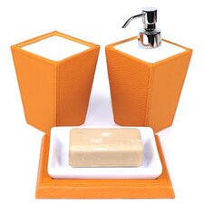 Kyoto 3 Piece Bathroom Accessory Set