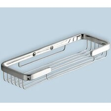 """Wire 1"""" Double Soap Holder in Chrome"""