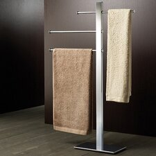 Bridge Free Standing Sliding 3-Tier Towel Stand