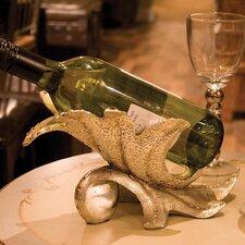 2-tlg. Weinflaschenhalter Elegant Leaf für 1 Fl.