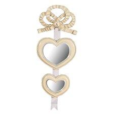 Wandspiegel Heart and Bow