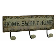 Home Sweet Home Wall Mounted Coat Rack