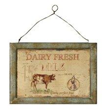 Hängebild Dairy Fresh - 42 x 29 cm