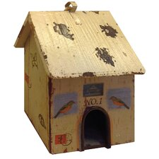 Bird House Figurine