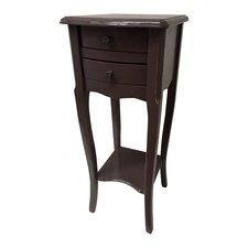 Nachttisch French Style Furniture mit 2 Schubladen