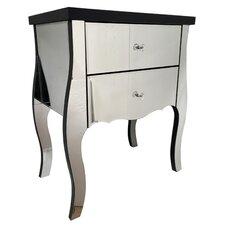 Bedroom Furniture 2 Drawer Bedside Table
