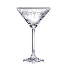 6 Piece 280 ml Martini Glass Set