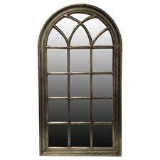 Wandspiegel im Fensterdesign