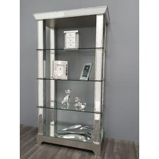 Vintage Mirrored Shelf Unit