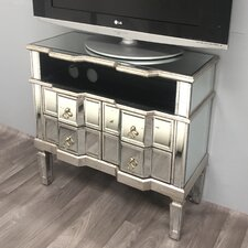 Vintage Mirrored TV Cabinets