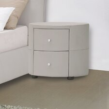 Excite 2 Drawer Nightstand