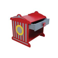 Fire Hydrant 1 Drawer Bedside Table