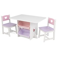 Children's 3 Piece Rectangular Furniture Set