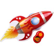 In My Room Jr. Big Red Rocket 3D Wall Décor