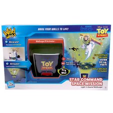 Wild Walls Star Command Space Mission Toy Story 3D Wall Décor