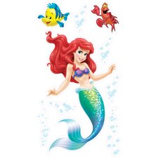 Wild Walls Under the Sea Journey Little Mermaid 3D Wall Décor
