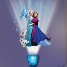 Wild Walls Magical Winter Journey Frozen 3D Wall Décor