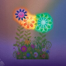 Flower Garden Light Dance Garden Wall Décor