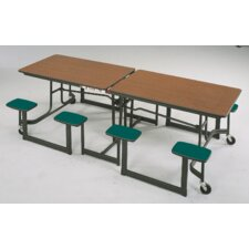 "29"" x 97"" Rectangular Cafeteria Table"