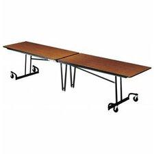 "29"" x 145"" Rectangular Cafeteria Table"