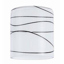 7 cm Lampenschirm Zyli aus Glas
