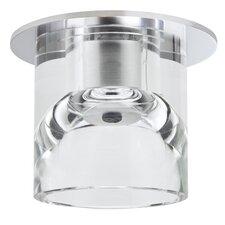 Glassy Tube 1 Light Recessed Light
