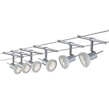 Sheela 6 Bulb Complete Track Lighting Kit
