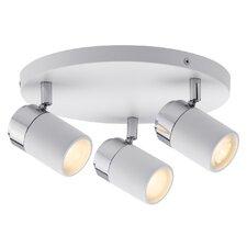 LED-Deckenleuchte 3 -flammig Zyli