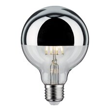 5W Mirrored Silver E27 LED Globe Light Bulb