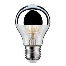 LED-Allgebrauchslampe E27 in Kopfspiegel Silber