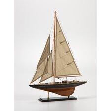 Wooden Model Sailboat