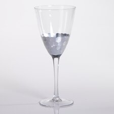 Barclay Butera Casablanca Fez Cut Glassware with Leaf (Set of 8)