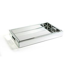 Venetian Rectangular Mirrored Tray