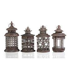 4 Piece Lantern Set