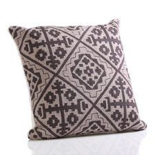Hopi Hand Embroidered Cotton Throw Pillow