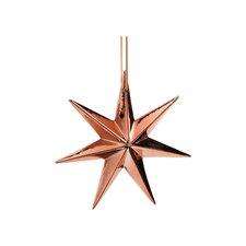 Copper Decorative Star Ornament (Set of 8)