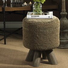 Barclay Butera Equestrian Woven Foot Stool