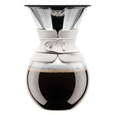 Pour Over 4.25 Cup Coffee Maker with Permanent Filter