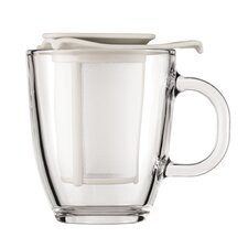 Yo-Yo Strainer and Pavina Double Wall Glass Teapot
