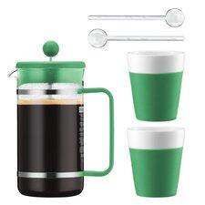 Bistro 5 Piece French Press Coffee Maker Set