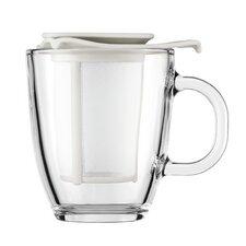 Yo-Yo Strainer and Pavina Double Wall Glass Teapot