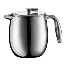 Columbia 4 Cup Double Wall French Press Coffee Maker