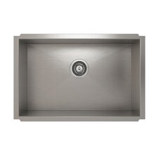 "ProInox 27"" x 18"" Undermount Single Bowl Kitchen Sink"