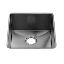 "J7 19.5"" x 19"" Undermount Single Bowl Kitchen Sink"